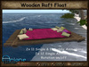 Wooden Raft Float - Single & Cuddle Animations - Rotation on/off colorful