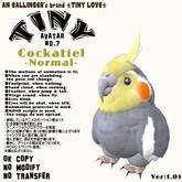 "Tiny Avater ""Cockatiel(Normal)"""