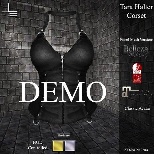 DE Designs - Tara Halter Corset - DEMO