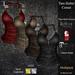 DE Designs - Tara Halter Corset - Leather Multipack
