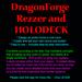 DragonForge Rezzer and Holodeck System v11