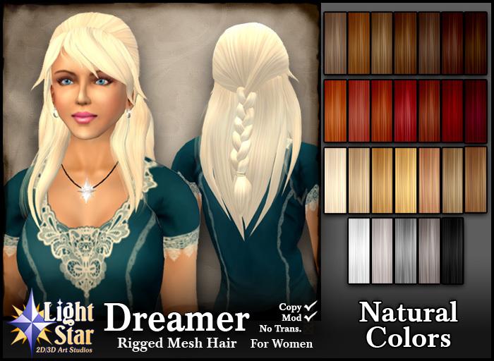 *LightStar-Hair-Dreamer-Natural Colors
