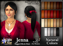*LightStar-Hair-Jenna-Natural Colors