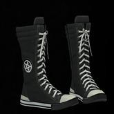 CuteBomb Pen Sneakers (BLACK) *WEAR*
