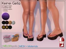 [M] Keirei Geta // Space [Made for Slink Flat Feet]