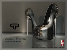 Pure Poison - Amelia Stiletto - Ad - ons for High SLINK Feet