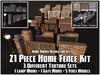21 Piece Fence Package (Decoration Set)