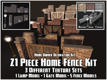 21 Piece Fence Package (Decoration Set)