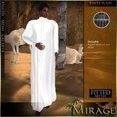 =Mirage= Galabya - White Plain