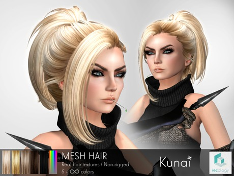 rezology Kunai (mesh hair) BF - 1187 complexity