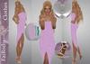 FaiRodis Magic Star Mesh Tube Point Dress OUTFIT  full pack