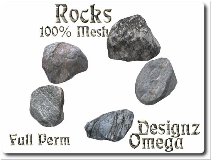 Mesh Rocks  Full Perm