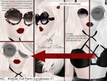 NC : #M036_Full Perm Sunglasses V1