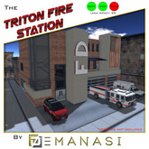 Triton Fire Station by Demanasi - 100% Mesh