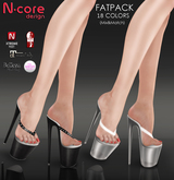 "N-core THONGS ""FatPack"" for High Feet (Rigged Mesh)"