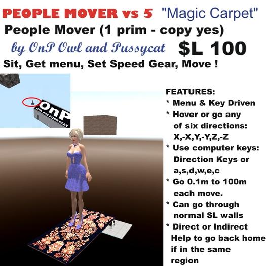 OnP Menu Driven Magic Carpet