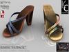 .:KC:. RIMINI Sandals for Slink Mid, Maitreya & Belleza / FATPACK