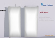 Mue ~ Mue Mesh Banner Full perm