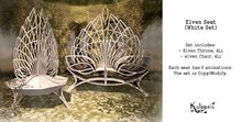 Kalopsia - Elven Seat (White Set)