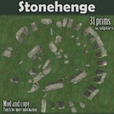 Stonehenge (SL's most accurate, low prim version of Stonehenge)