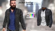 INVICTUS - Black Jacket leather - model 02
