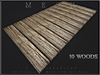 T-3D Creations [ PATHWAY STRAIGHT - 10 Woods 001 ] Regular MESH - Full Perm -