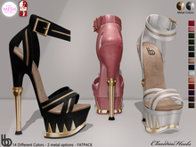 Bens Boutique - Claudia Heels (Slink High-TMP) FATPACK