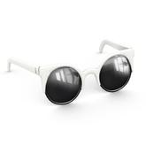 Amala - The Smitten Kitten Sunglasses - White