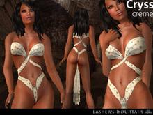 Cryss - Crema Silks - einfaches Tuch wickeln Fantasy Rollenspiel Verschleiß