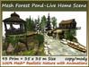 Mesh Forest Pond-Live Home Scene 93Prim=35x35mSize copy-mody
