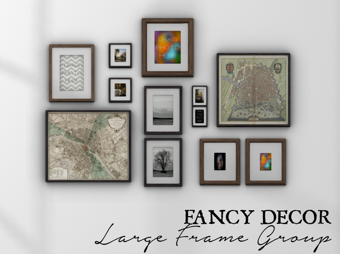 Fancy Decor: Large Frame Group