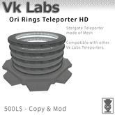 Ori Teleporter RIngs HD 2.0 [Boxed]