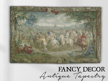 Fancy Decor: Mesh Antique Tapestry