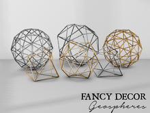 Fancy Decor: Geospheres