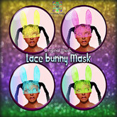 MHC_Lace Bunny Mask (Open Me)