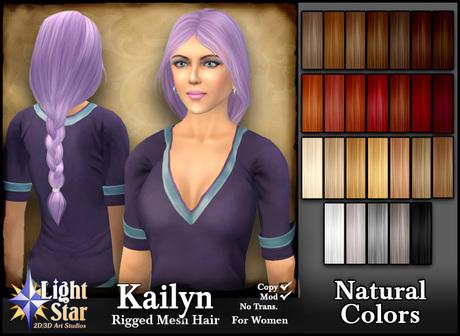 *LightStar-Hair-Kailyn-Natural Colors