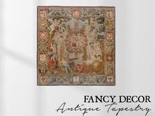 Fancy Decor: Antique Tapestry III