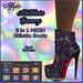 Iffyta AliKat's Groovy Stiletto Ankle Boots