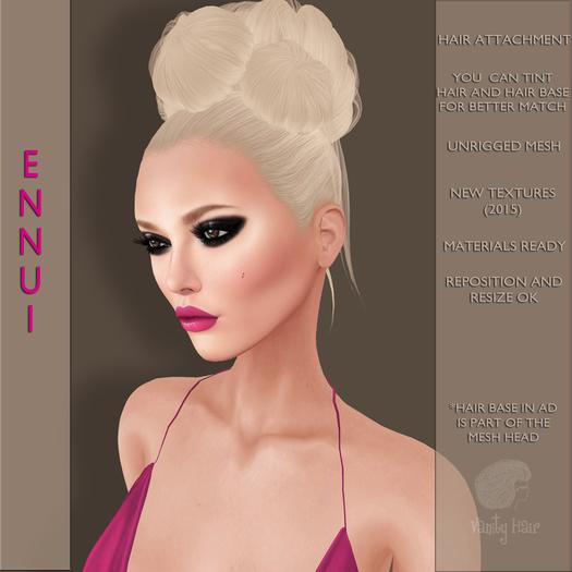 Vanity Hair::Ennui-Must Haves Pack