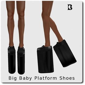 Blackburns Big Baby Platform Shoes