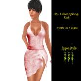 <IS> Esmee Dress Spring Red