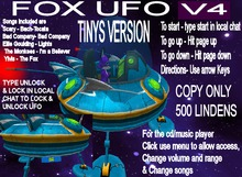 Tinys Fox UFO V4(Boxed)