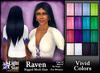 *LightStar-Hair-Raven-Vivid Colors
