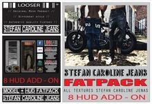 *2015 EDT.* █║▌LOOSER ║▌║® // [ BOX ] HUD DRIVEN Stefan & Caroline Jeans FAT PACK