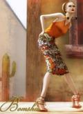 <*>B<*> Bintumani Skirt Tangerine