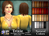 *LightStar-Hair-Trixie-Natural Colors