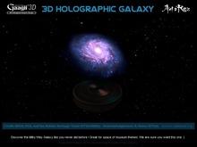 Gaagii - 3D Holographic Galaxy M74