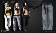 B BOS -Psycho Pants-Jeans Bleach-