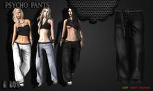 B BOS -Psycho Pants-Jeans Black-