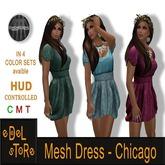 SET 4 - eDelsToRe - Mesh Dress - Chicago